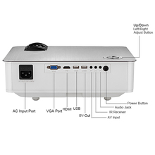 Hot selling ROHS multimedia 1080p video proyector USB VGA LED thuis <span class=keywords><strong>kerst</strong></span> cinema theater kids lcd <span class=keywords><strong>projector</strong></span>