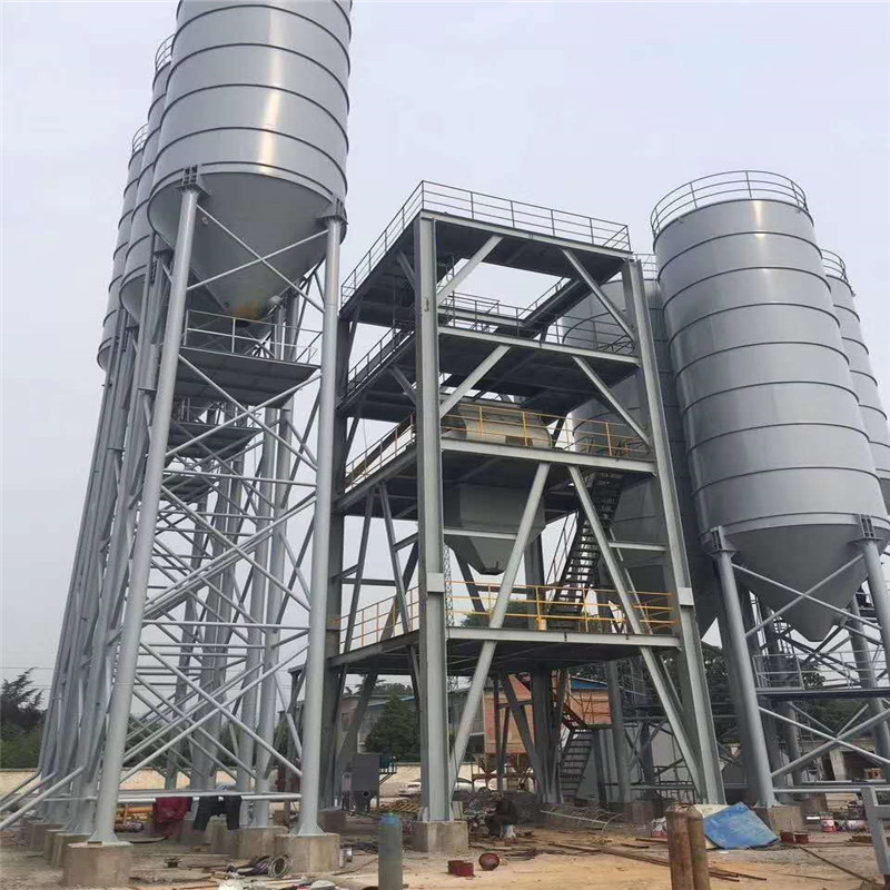 Bolted Type Lime Cement Silo For Store Powdered Quicklime and Hydrated Powdered Lime