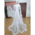 Halloween Queen Style See Through Lady Plus Size Full Slips Women Transparent Long Gown sexy Lingerie Robes With Fur Feathers