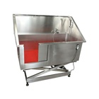 Promotion Factory Made Cheap Stainless Steel Dog washing Bathtub