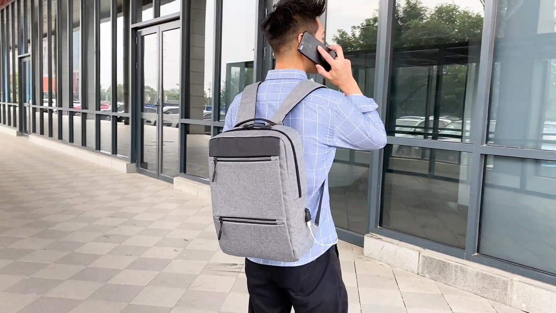 थोक यात्रा बैग कस्टम लोगो पुरुषों और महिलाओं के व्यापार यूएसबी लैपटॉप बैग