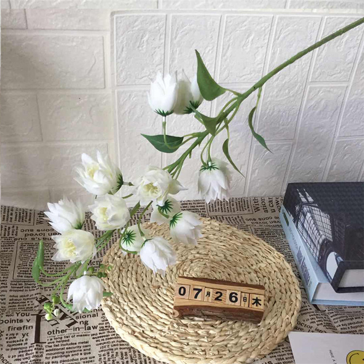 China wholesale wedding decoration silk flores artificial flower for home