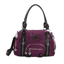 Angelkiss женская мягкая сумка через плечо Водонепроницаемая Нейлоновая Сумочка Модный ранец большая емкость багажная подушка для сумки Сумка(Китай)