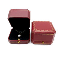 Vintage Ring Boxes Luxury Custom Design Packaging Gifts Jewellery Wholesale Jewelry Gift Box