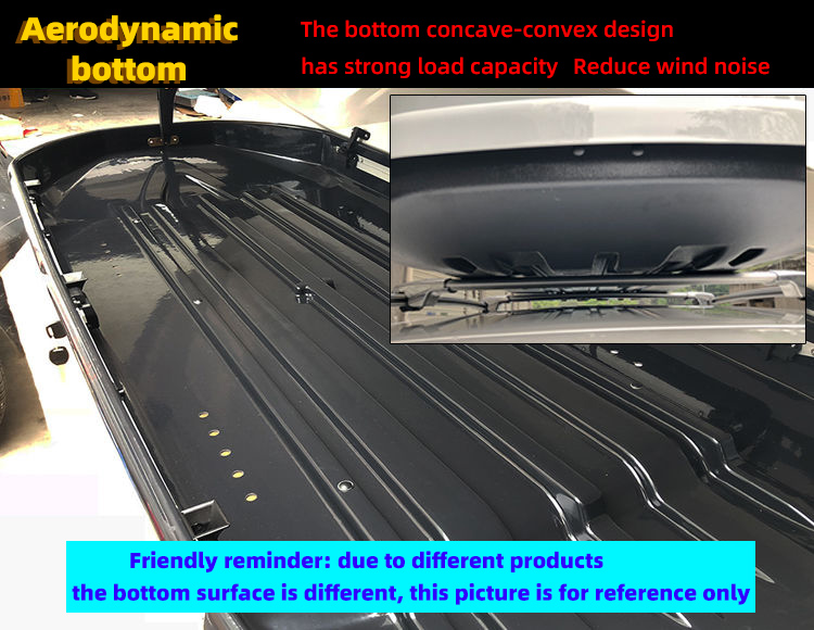 Factory manufacture various 700L racks Car roof luggage bag