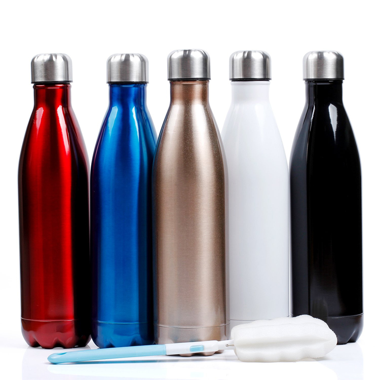 High quality bpa free stainless steel gym water <strong>bottle</strong> with lid