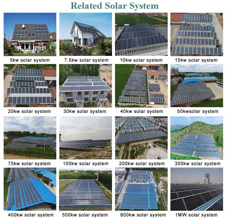3kw off grid solar system solar kit price 5kw solar power system home 10kw solar energy system