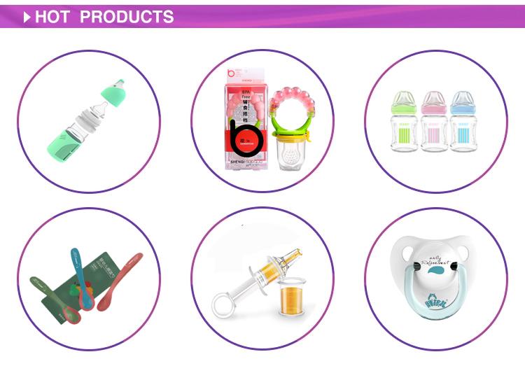 High Quality BPA Free 100% Food Grade Silicone Baby  Nipple