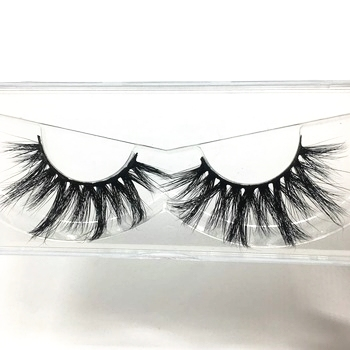 real mink eyelash wispy lashes natural looking lashes cruelty free 3d mink eyelashes with custom eyelash packaging
