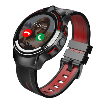 2020 5 Million Pxels HD Dual Camera Sport GPS Smartwatch , Android Video Call Watch Phone 4G Halth Smart Watch With Google Play
