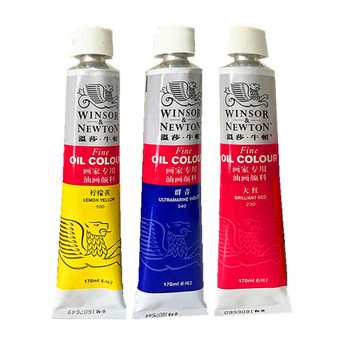 Winsor and Newton 55 colours 45/170ml artist professional aluminium tube oil colour paint set brand