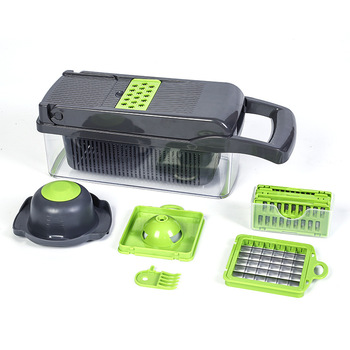 Multi-function heavy duty holder tool fruit cabbage onion tomato potato shredder chopper slicer vegetable cutter