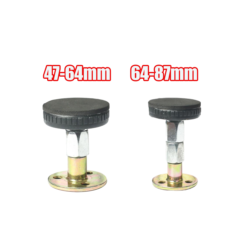 Set of 2 2 Size Adjustable Threaded Bed Frame Antishake Support Tool Fixer