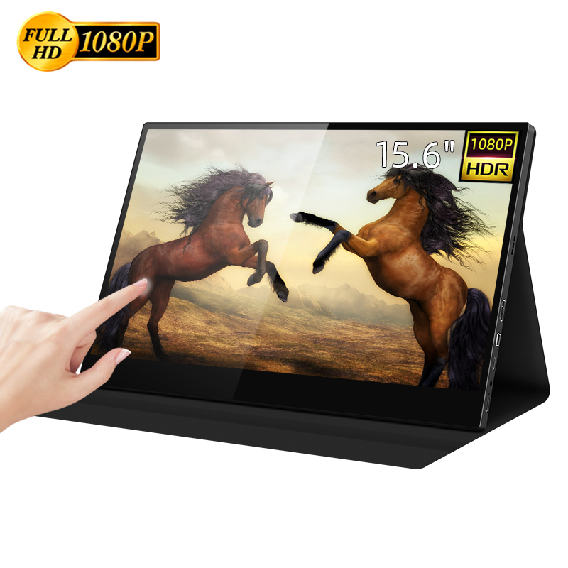 Touch Screen Monitor 15.6inch 1080P Portable Display from Intehill