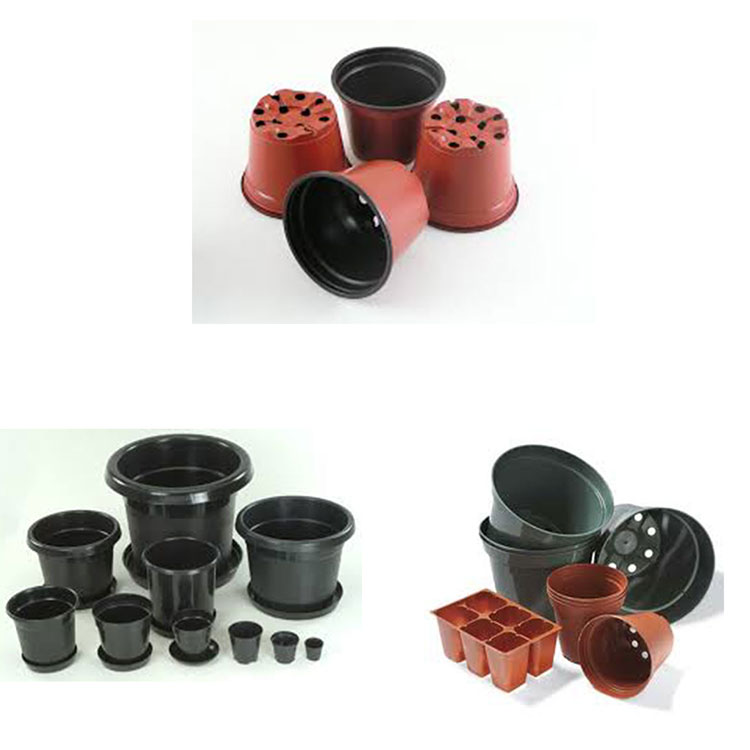 Factory Hot Selling Rubber Material Flowerpot Mould By Plastic Injection