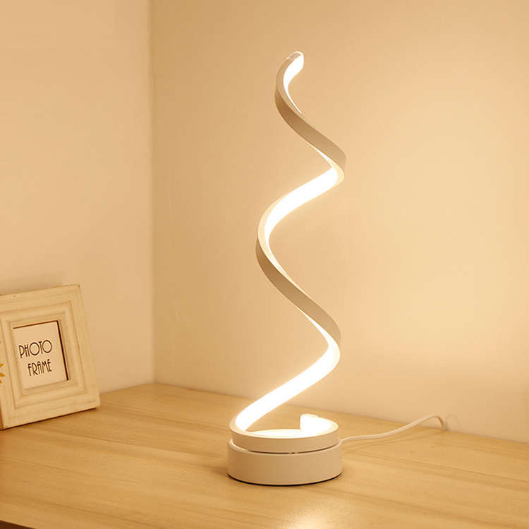 Cheap Modern Nordic PC Gold Night Small Led Desk Table Lamp
