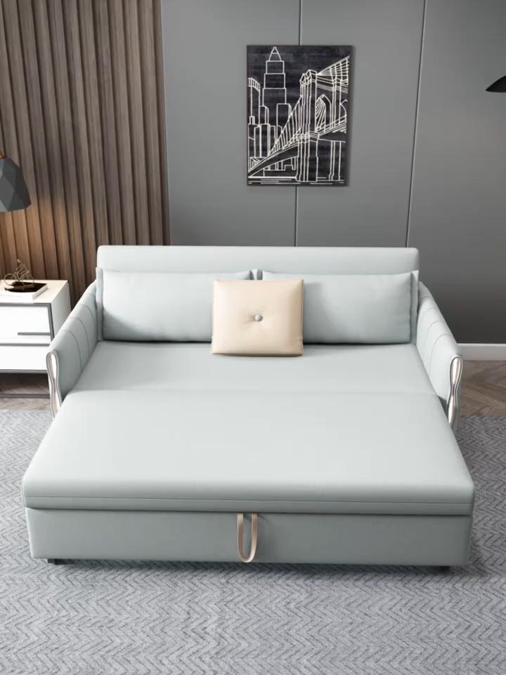 Muebles de dormitorio de Metal cama ajustable Hotel de alta calidad de madera de dormitorio día y noche sofá camas