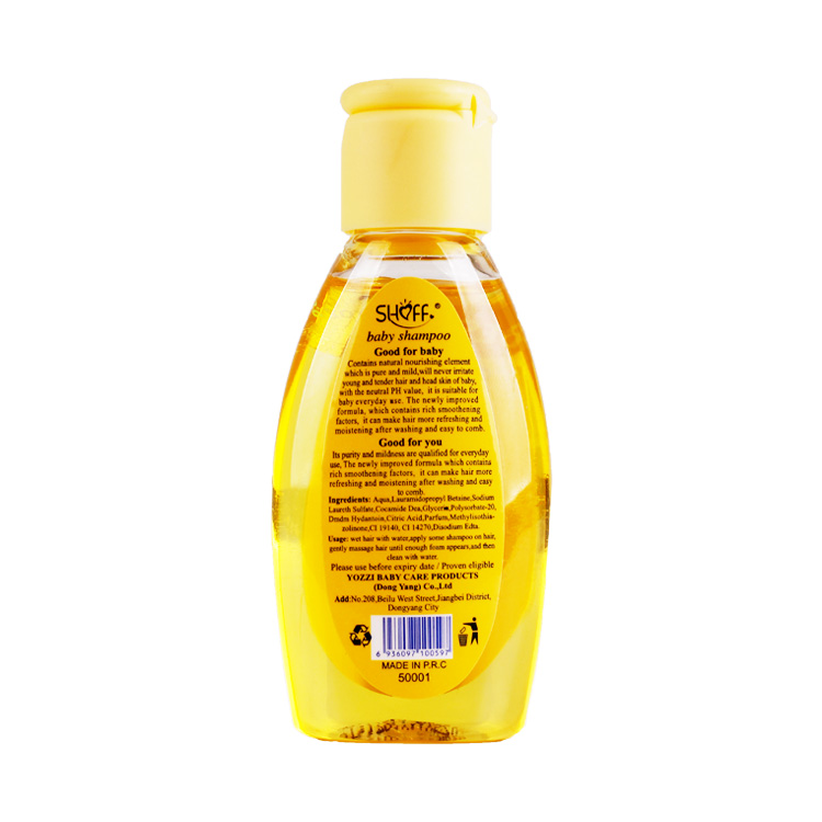 SHOFF Wholesale OEM Baby Shampoo 100ml with cheap price refreshing hair