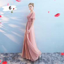 Новые шифоновые Серебряные платья серого цвета для подружек невесты элегантные свадебные платья, сексуальное вечернее платье без спинки A ...(Китай)