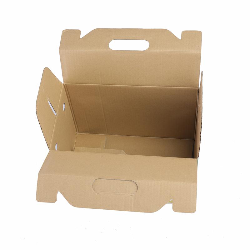 Tùy chỉnh thực hiện cuộn cuối Đồng Bằng kraft paper thùng carton bao bì hộp sóng hộp