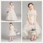 2020 summer flower wedding party children kids clothes girls' dresses