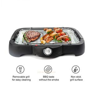Jinchang BQ228-B 2000W electric heating smokeless grill barbecue BBQ with water tray