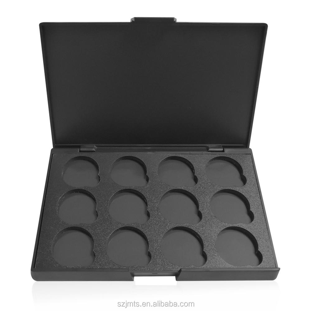 Snel Aangepaste Label Lege Eyeshadow Palette 26 Mm 4 Pan Prive 12
