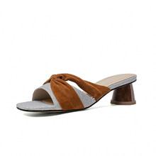 SOPHITINA/Модные женские сандалии; Удобные летние уличные тапочки с открытым носком на толстом каблуке; Женская повседневная обувь; SOPHITINA; Sop509(Китай)