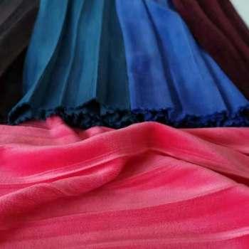 Vestido De Tela-Libre p+p Arrugada Stretch velour-avacadot