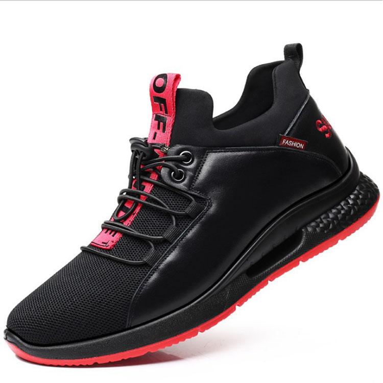 2019 Fashion Sepatu Berjalan Sepatu Tenis Feminino Outdoor Breathable Sneakers Pria Pu Kulit Bisnis Sepatu Kasual untuk Pria