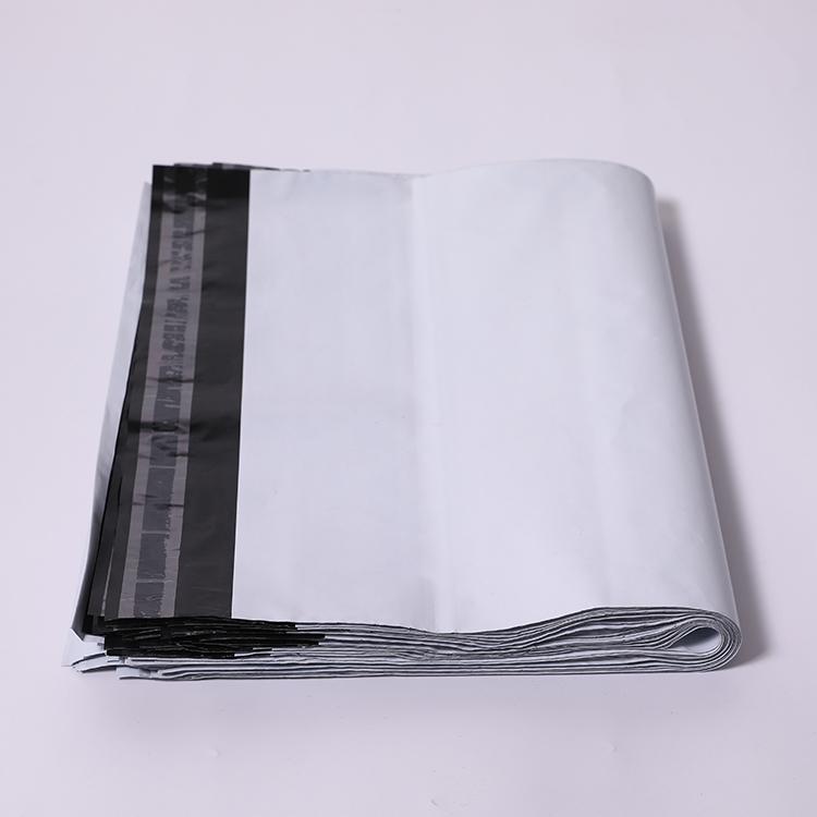 Personnalisé sizewhite imperméable recyclable d'expédition sacs d'expédition de courrier