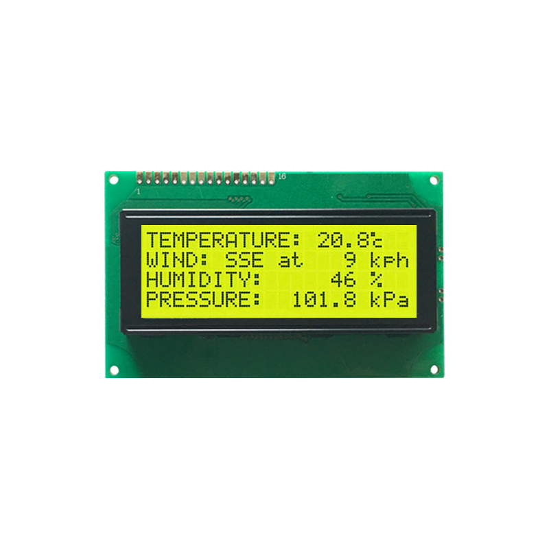 LCD Mono Dot Matrix Module 20x4 Character LCD Display