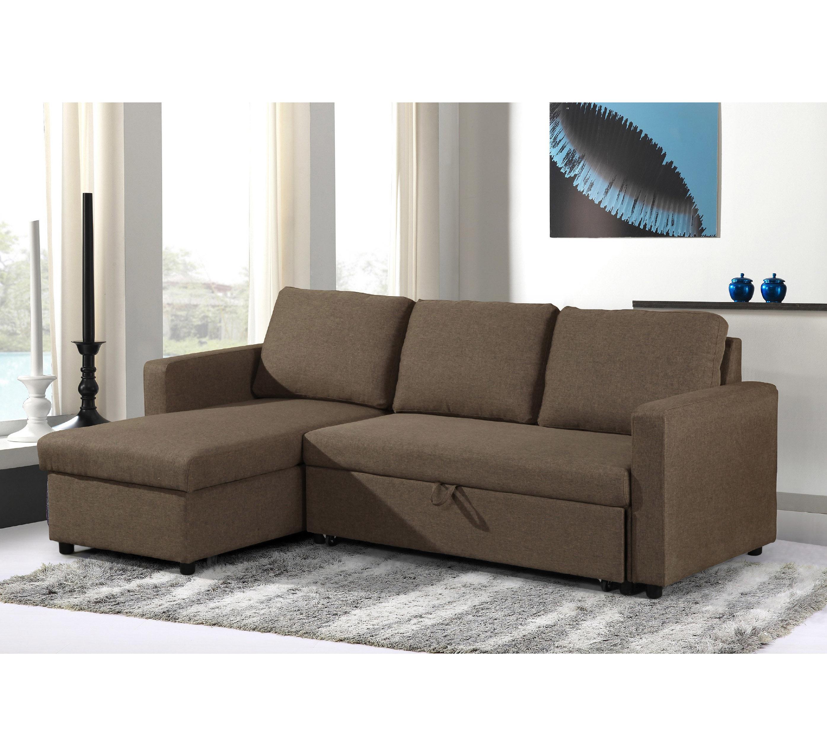 Modern Furniture Corner Sofa Bed Set