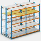Metal Support Beams For Medium Duty Shelving MDF Shelf Shoe Rack