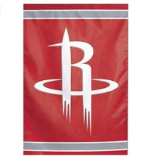 12x18 inç Houston Rockets basketbol bahçe bayrak ve Yard Banner