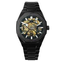 Победитель официальные мужские часы лучший бренд класса люкс автоматические механические часы мужские золотые часы из нержавеющей стали р...(Китай)