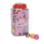 halal Tasty Double Lollipop factory /Fruity flavor stick pop in jar