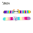 Newest best selling cool silicone wristband customizable silicone Snap bracelet