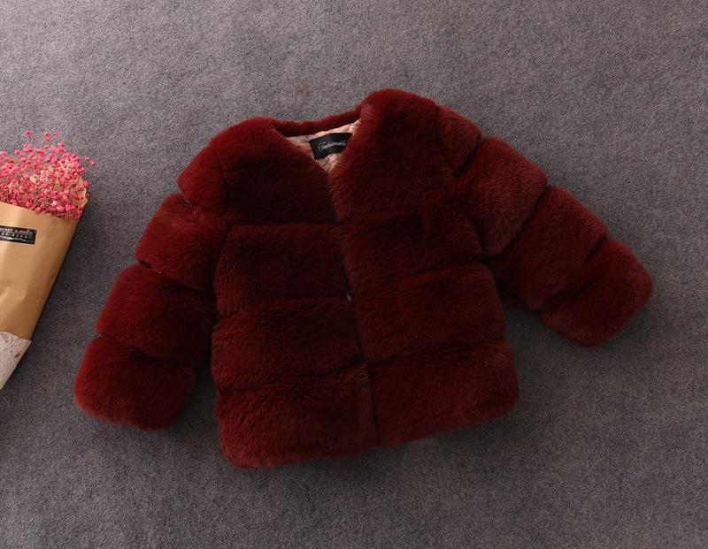 معطف أطفال أنيق بسعر خاص ، معاطف شتوية للأطفال ، جاكيت من الفرو الأسود