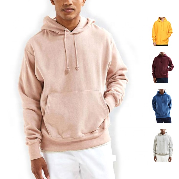 China supplier blank high quality hoodies wholesale 400gsm reverse weave hoodie