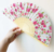 China traditional craft bamboo folding hand fan for sale custom welcome