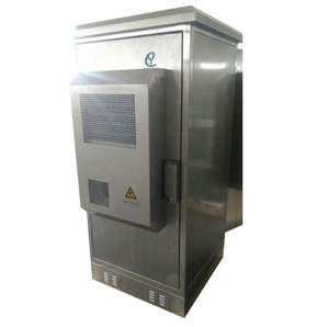 32U outdoor stainless steel telecom cabinet