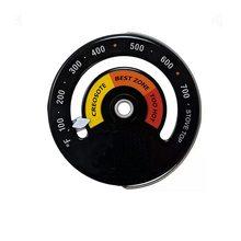 Термометр FireplaceThermometer, работающий от тепла, для дровяной печи, камина, вентилятор для камина, термометр с большим дисплеем(Китай)