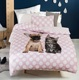 Wholesale China 100% Polyester Bed Sheet Sets Printed Bedding Set Cute Duvet Cover For Home