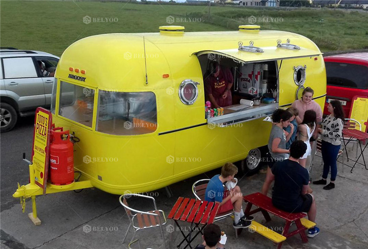Snack bubble tea cotton candy lunch fast food Moto Food Truck / Electric Mobile Food Truck For Sale In China usa