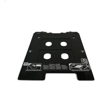 2 Piece Inkjet Print PVC white Card Tray for inkjet PVC Card Tray for Canon M Printers wholesale chi