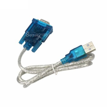 9 polig USB zu Seriell Adapter HL 340 Chip DB9 USB zu RS232