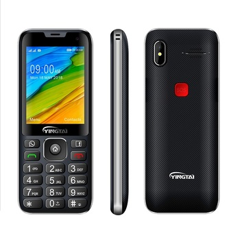 "4G 2.8"" dual SIM unlocked good used gps android capacitive bar phone for senior"
