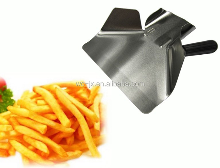 manual potato chips making machine fresh potato cutter sweet potato slicer machine for sale WPF-16 with one fries scoop
