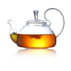 800ML Water Pot Teapot Kettle Glass Jug Coffee Pot Juice Container Large Capacity Cold Water